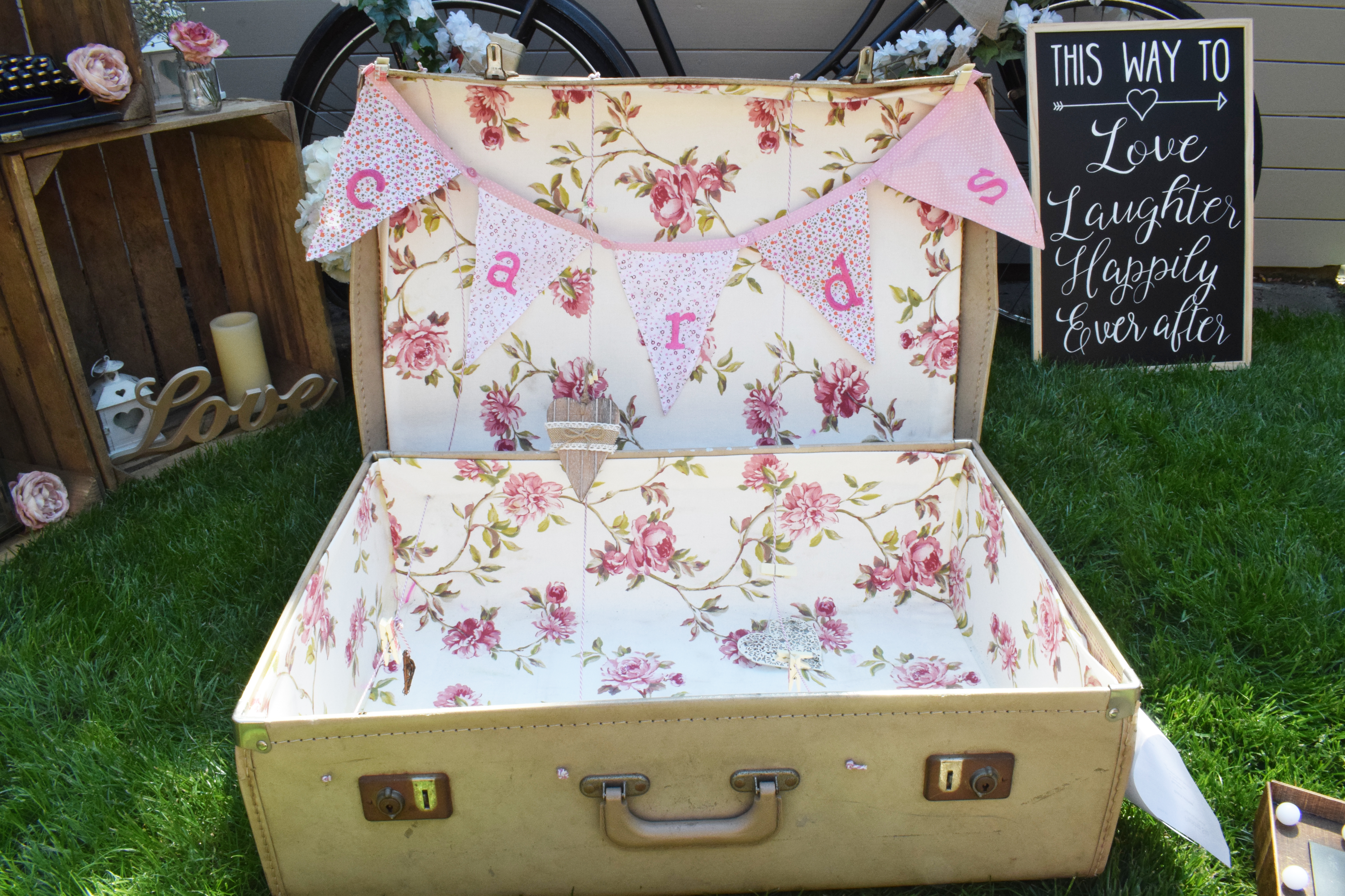large suitcase cards
