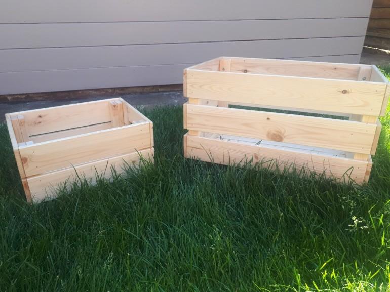 pine crates