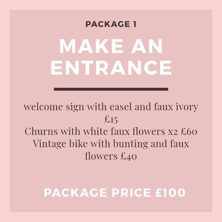 make an entrance package